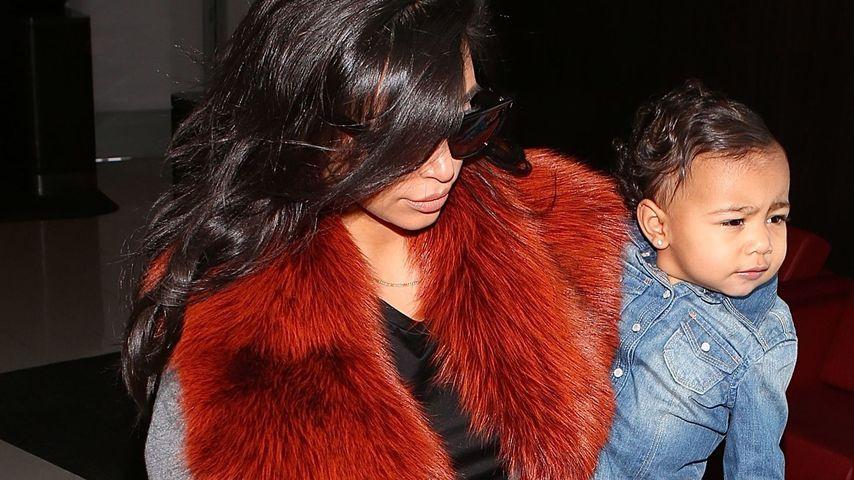 Sanfte Eltern! So erziehen Kim & Kanye ihre Nori