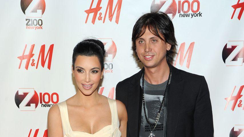 Kim Kardashian und Jonathan Cheban auf dem Jingle Ball 2010