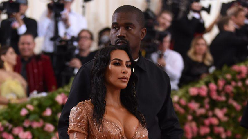 Kim Kardashian und Kanye West bei der Met-Gala 2019