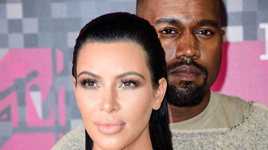 Kim Kardashian und Kanye West auf den MTV Video Music Awards 2015