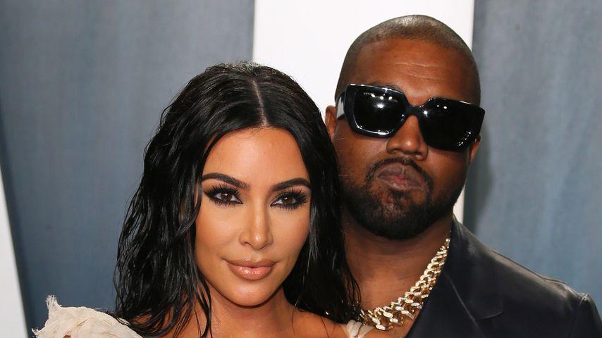 Inmitten der Scheidungsgerüchte: Kanye feiert ohne Kim