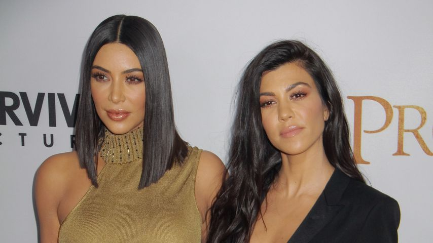 Kim Kardashian und Schwester Kourtney