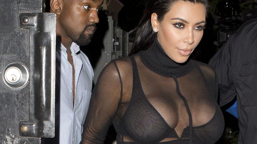 Kurven-Mama: Kim Kardashian zeigt ihre Kugel(n)