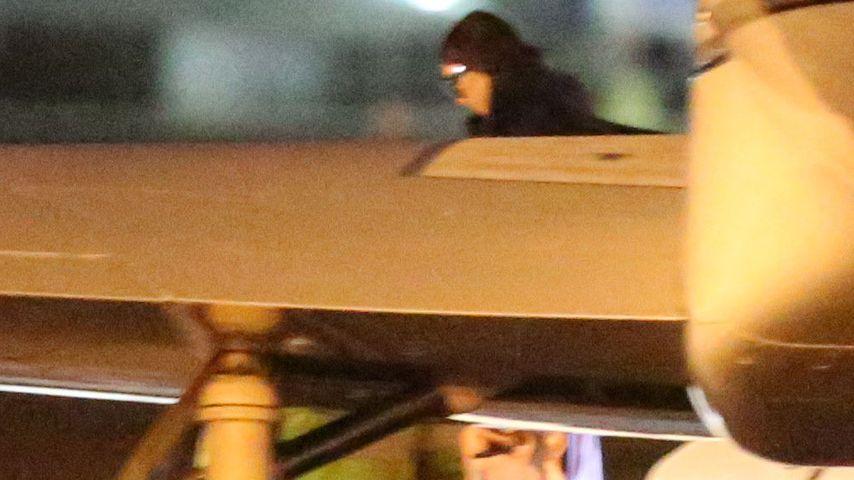 Flughafen-Pics: Hier fliegt Kim Kardashian zu Kanye West