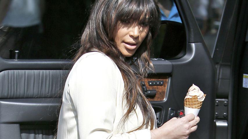 Verlässt Kanye seine Kim, weil sie zu mollig wird?