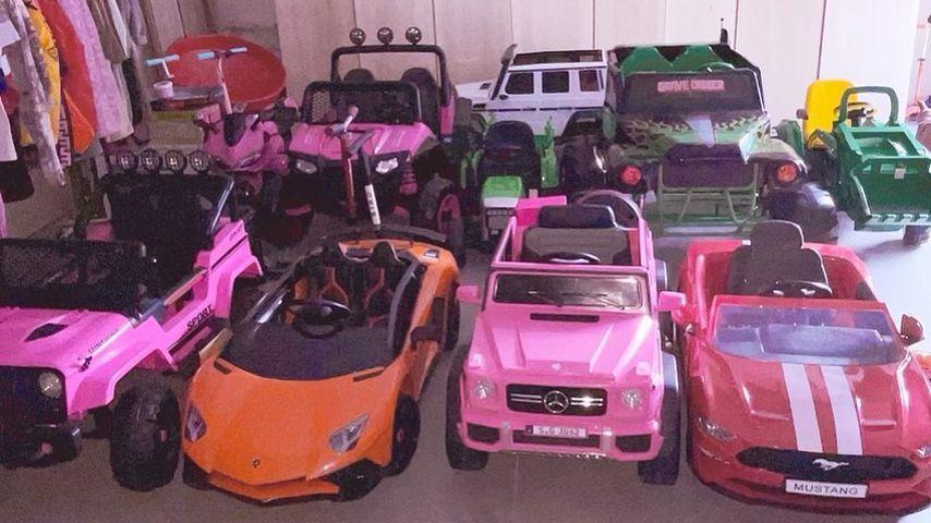 Kim Kardashians Fuhrpark für ihre Kinder