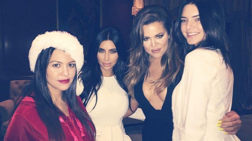 Khloe Kardashian: Sexy Party mit ihren Schwestern