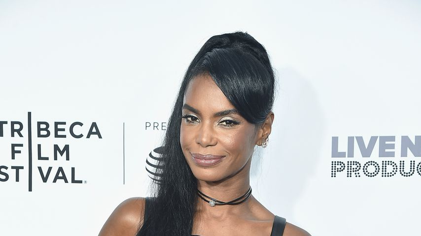"Kim Porter bei der Premiere von ""Can't Stop, Won't Stop: The Bad Boy Story"""