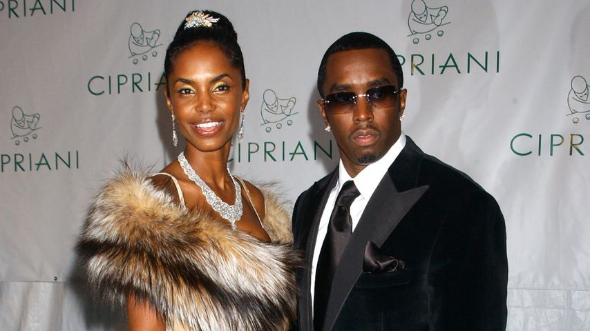 Kim Porter und P. Diddy in New York