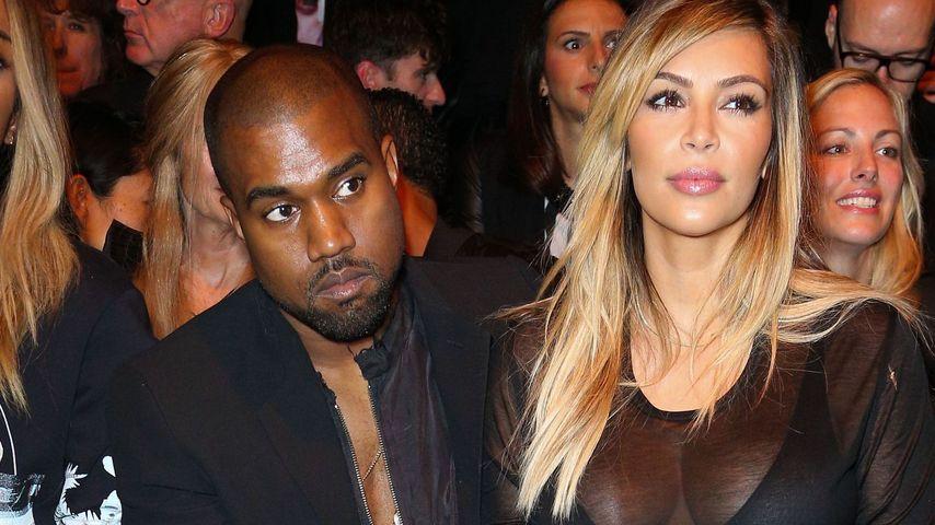 Kim Kardashian & Kanye: Süße Schwärm-Offensive!