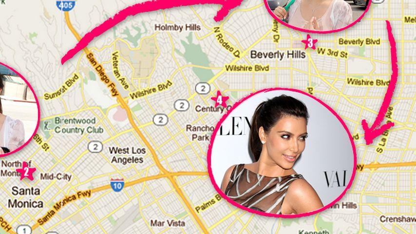 So aufwendig ist Kim Kardashians Styling-Prozedur