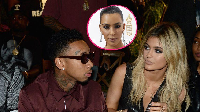 Nach Trennung von Kylie & Tyga: Kim war gegen die Beziehung