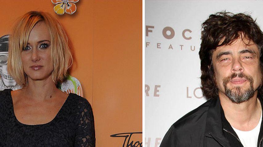 Kimberly Stewart und Benicio del Toro