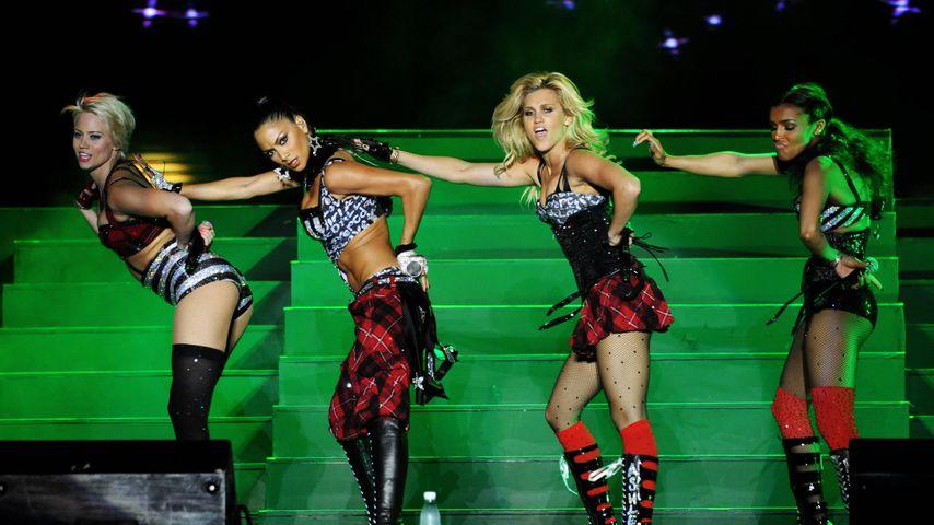 Pussycat Dolls: Kimberly Wyatt, Nicole Scherzinger, Ashley Roberts und Melody Thornton