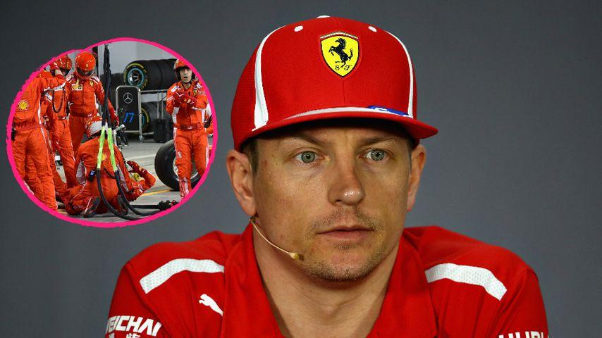 Nach Horror-Crash: Kimi Räikkönen macht sich keine Vorwürfe
