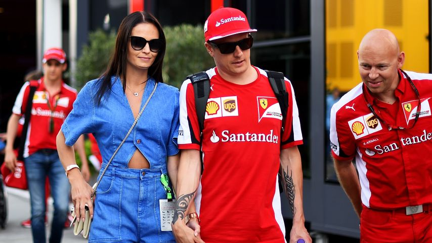 Kimi Räikkönen: Formel-1-Star heiratet seine Model-Freundin