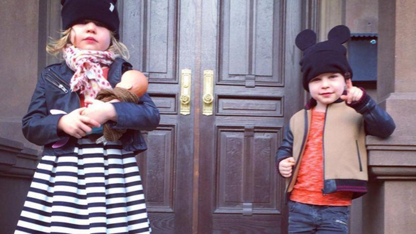 Harper Grace Burtka-Harris und Gideon Scott Burtka-Harris