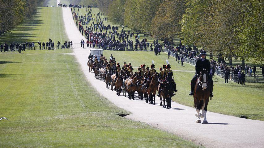 Kings Troop Royal Horse Artillery, April 2021