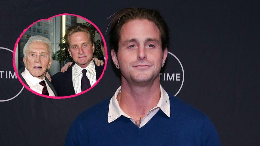 Kirk & Michael Douglas: Sie standen Cameron im Knast bei!