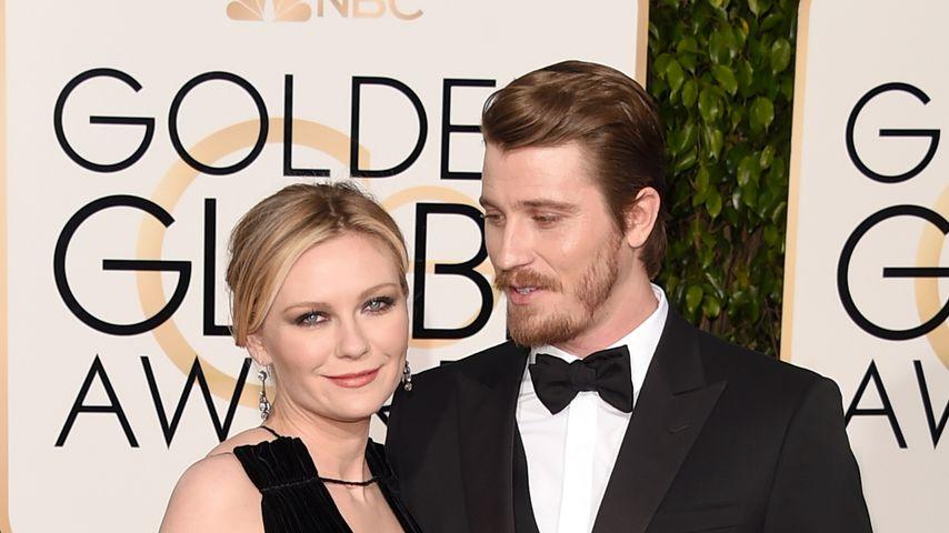 Kirsten Dunst und Garrett Hedlund bei den Golden Globes 2016