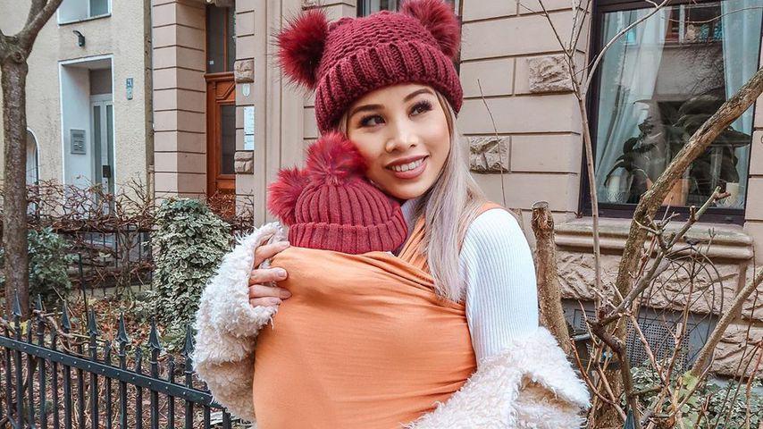 Kisu und ihre Tochter im Januar 2020