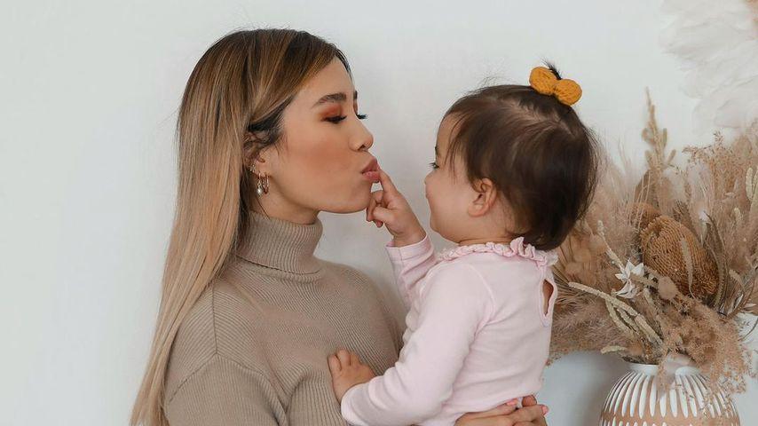 Kisu mit ihrer Tochter Milena
