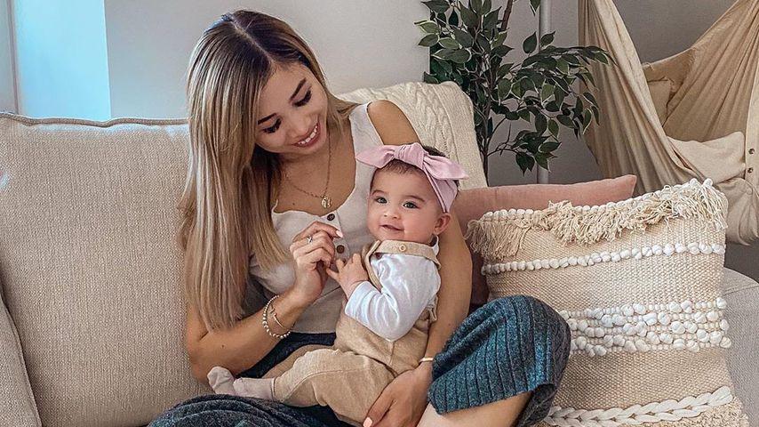 Kisu mit Töchterchen Milena, März 2020