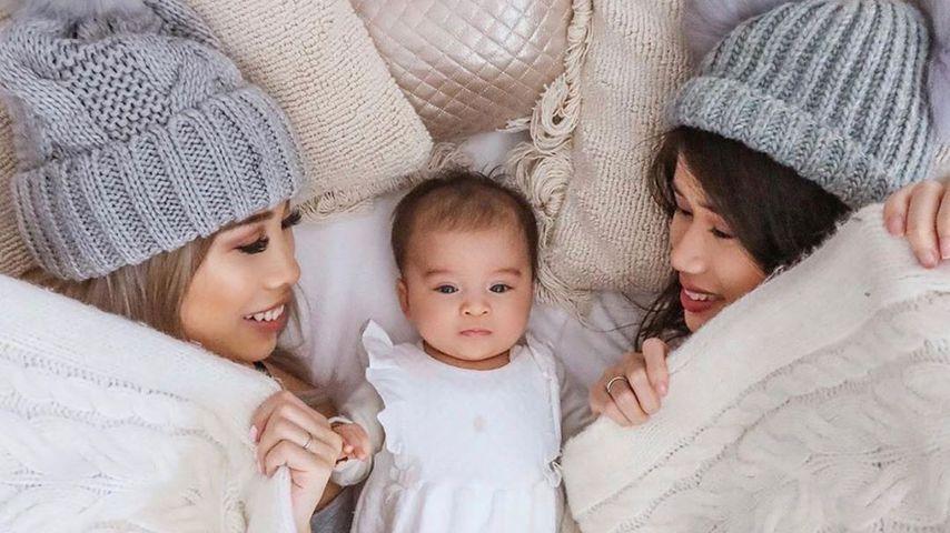 Kisu und ihre Schwester Mai Anh zusammen mit Milena