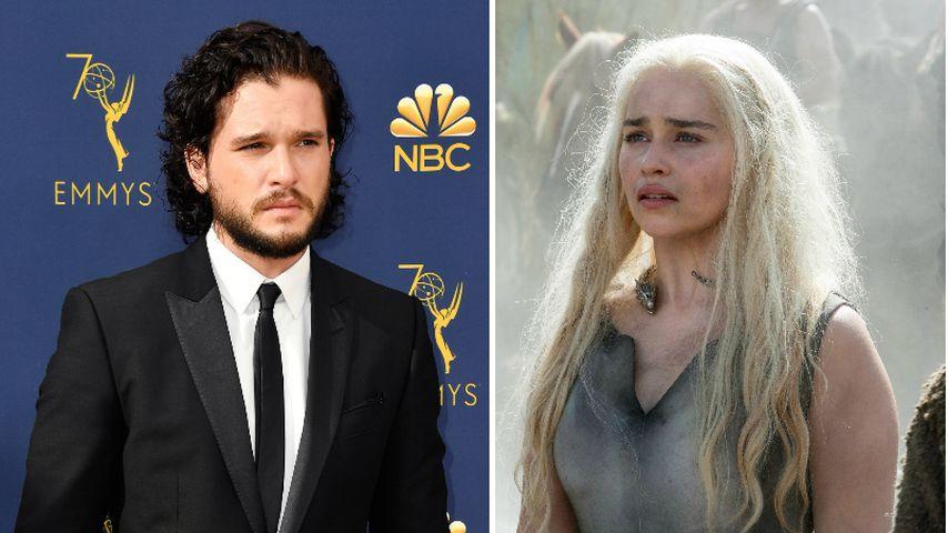 """""""Game of Thrones""""-Doku: So weinte Kit Harington wegen Dany"""