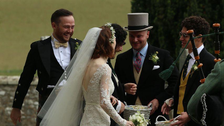 Kit Harington und Rose Leslie bei ihrer Hochzeit