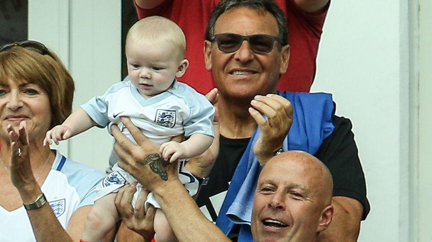 Für England: Jubelt Wayne Rooneys Baby heute wieder so süß?