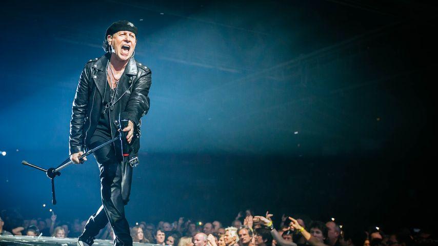 Scorpions-Konzert abgebrochen: Klaus Meines Stimme ist weg!