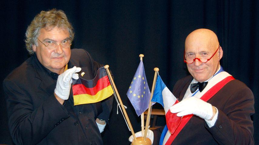 Klaus Spürkel (links) und Martin Graff, Kabarettisten-Duo