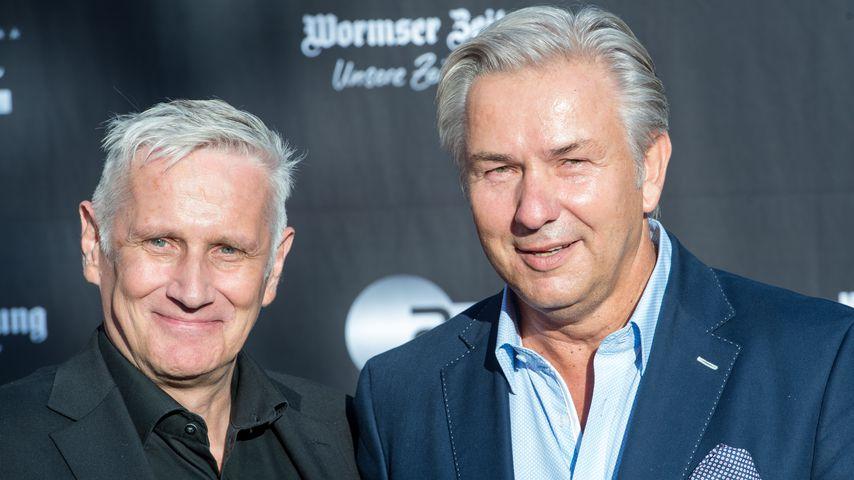 Klaus Wowereit (rechts) und sein Lebenspartner Jörn Kubicki