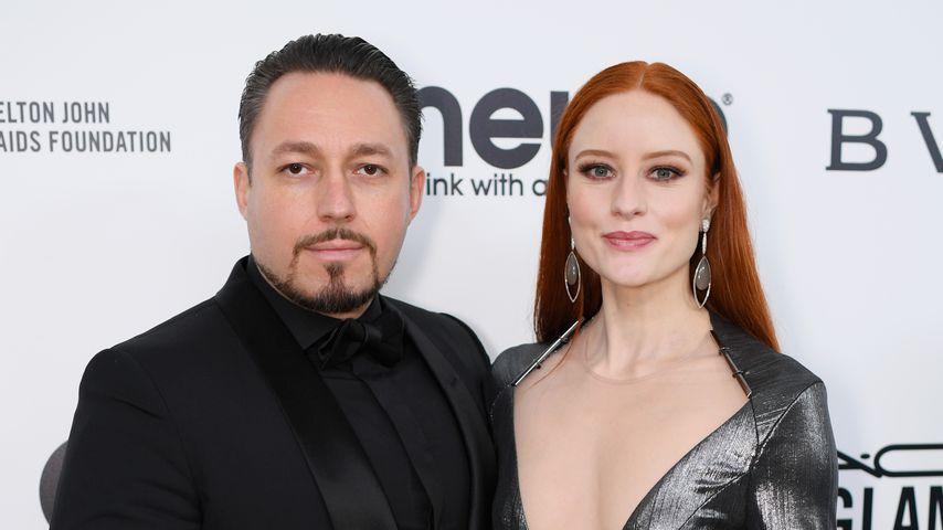 Klemens Hallmann und Barbara Meier, Februar 2017 in West Hollywood