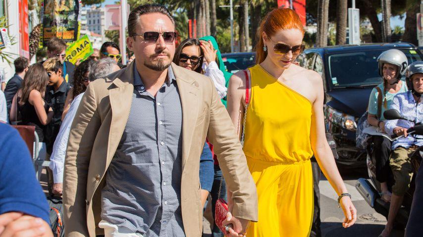 Verliebt in Cannes: Barbara Meier & Klemens halten Händchen