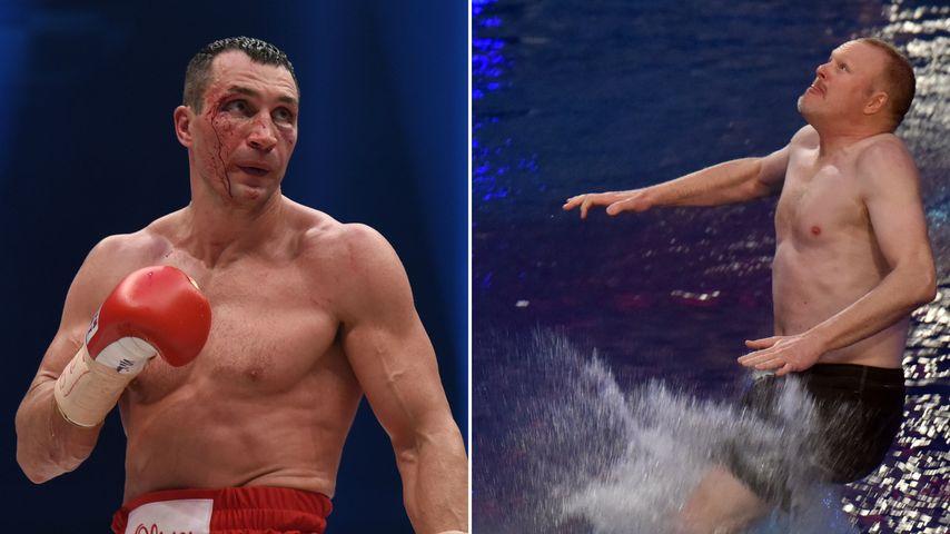 Minus-Rekord: Klitschko macht Stefan Raab zum Abschied nass!