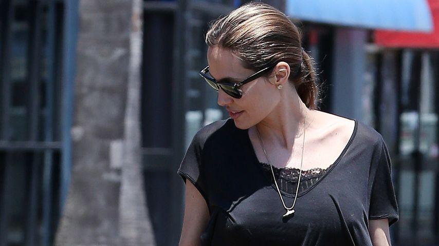 Nanu?! Angelina Jolie übernachtet mit Kids im Zoo