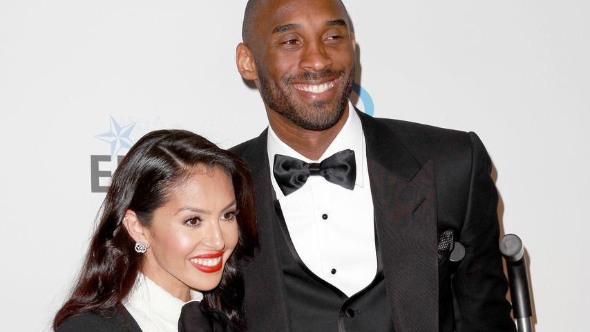 Kobe Bryant mit seiner Frau Vanessa