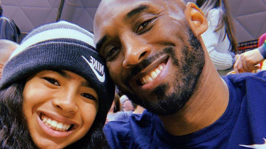 Kobe Bryant mit seiner Tochter Gianna