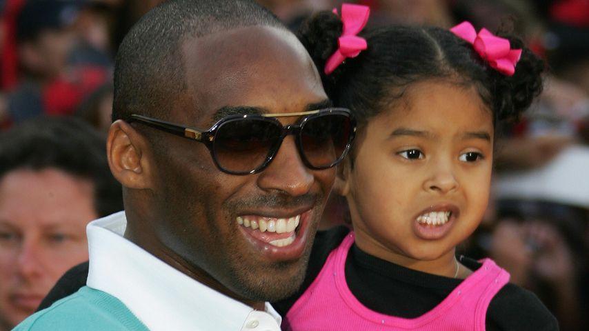 Kobe Bryant und seine Tochter Natalia 2007