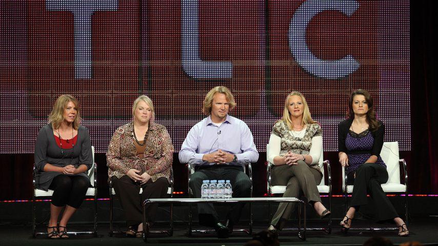 Kody Brown mit seinen Frauen Meri, Janelle, Christine und Robyn