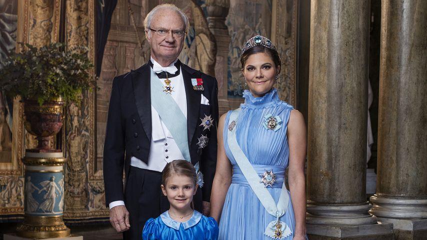 Schweden-Thronfolger! Königsblaue Pics von Estelle & Co.