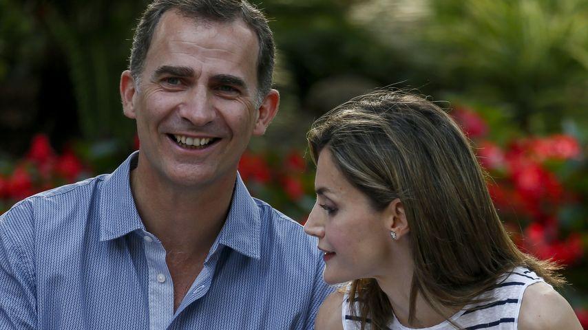 Das spanische Königspaar König Felipe VI. und Königin Letizia von Spanien auf Mallorca 2016
