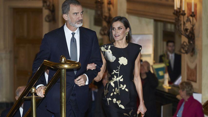 König Felipe und seine Gattin Letizia