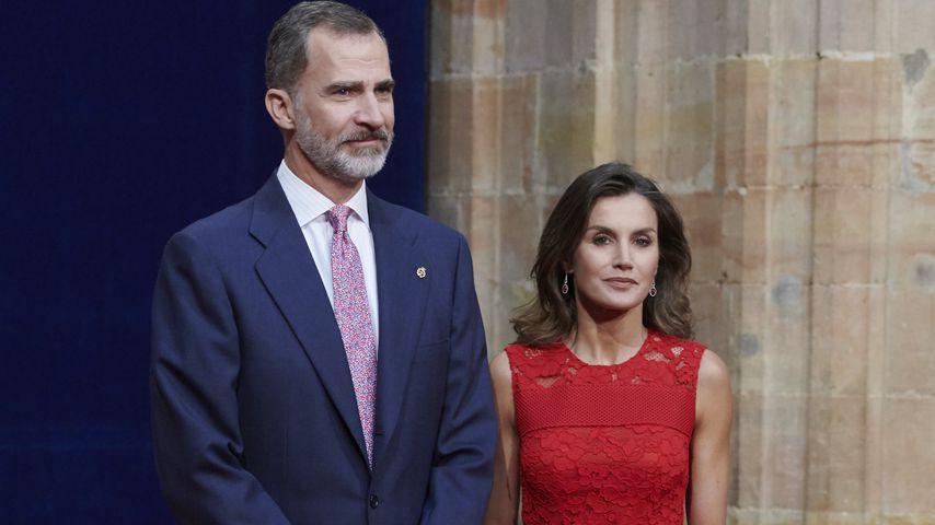 König Felipe VI. und Königin Letizia von Spanien