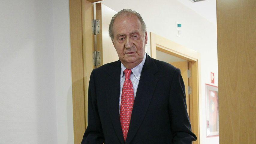 Ex-König Juan Carlos nach seiner Hüft-OP 2012