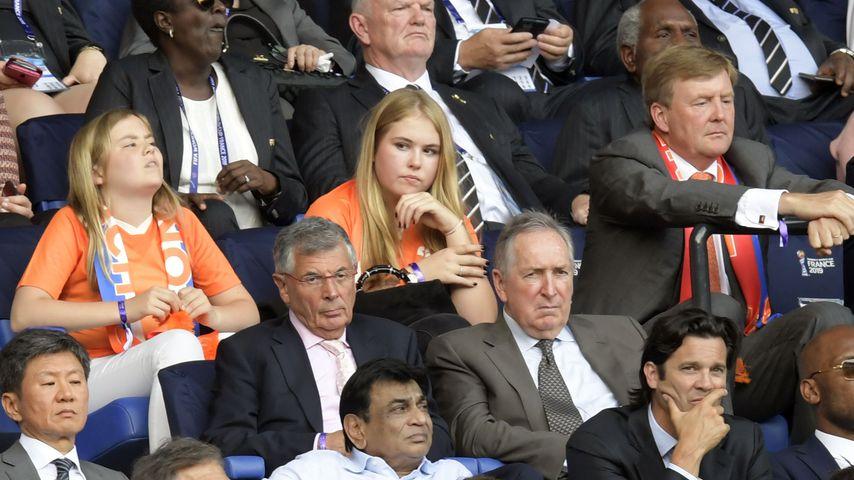 WM-Niederlage: Willem-Alexanders Kids machen lange Gesichter