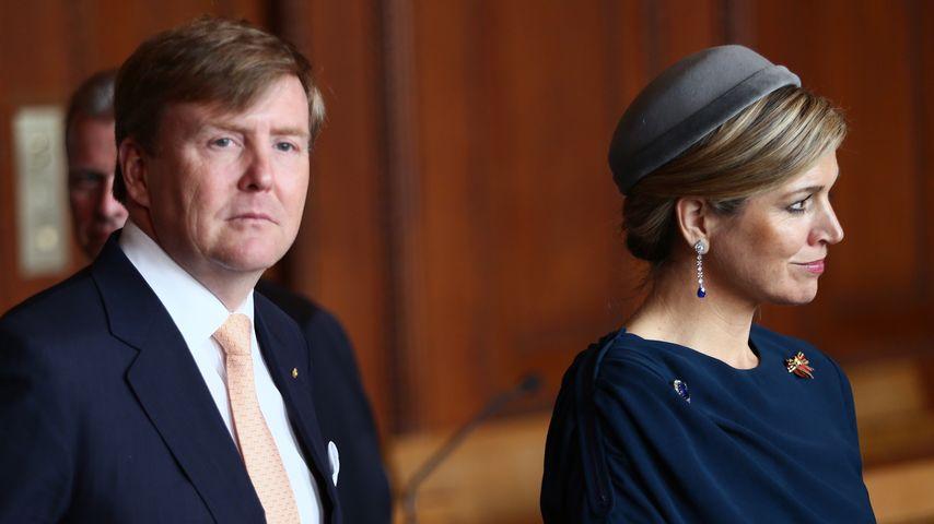 König Willem-Alexander und Königin Máxima bei einem Staatsbesuch in Deutschland