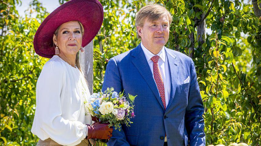 König Willem-Alexander und Königin Maxima der Niederlanden im Jahr 2019